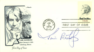 JIM BISHOP - FIRST DAY COVER SIGNED