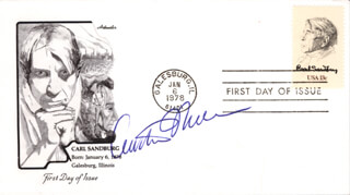ARTHUR MILLER - FIRST DAY COVER SIGNED