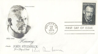 ROBERT PENN WARREN - FIRST DAY COVER SIGNED