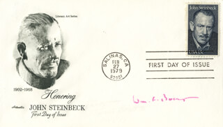 WILLIAM F. BUCKLEY JR. - FIRST DAY COVER SIGNED