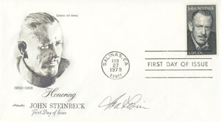 IRA LEVIN - FIRST DAY COVER SIGNED