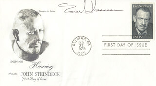 EARL HAMNER - FIRST DAY COVER SIGNED
