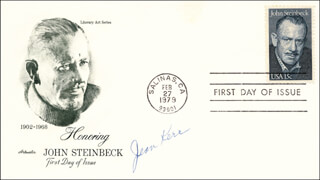 JEAN KERR - FIRST DAY COVER SIGNED