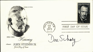 DORE SCHARY - FIRST DAY COVER SIGNED