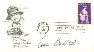 ERMA BOMBECK - FIRST DAY COVER SIGNED