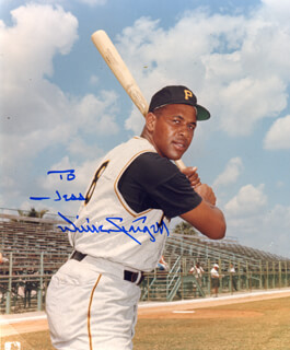WILLIE STARGELL - AUTOGRAPHED INSCRIBED PHOTOGRAPH