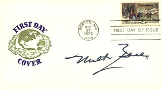 MILTON BERLE - FIRST DAY COVER SIGNED