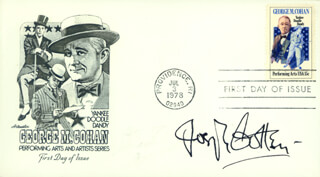 JOSEPH COTTEN - FIRST DAY COVER SIGNED