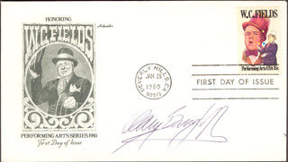 GARY BURGHOFF - FIRST DAY COVER SIGNED