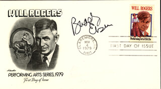 BUDDY EBSEN - FIRST DAY COVER SIGNED