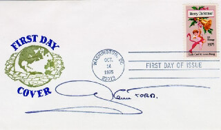 GLENN FORD - FIRST DAY COVER SIGNED