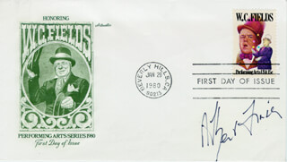ALBERT FINNEY - FIRST DAY COVER SIGNED