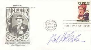 HAL HOLBROOK - FIRST DAY COVER SIGNED