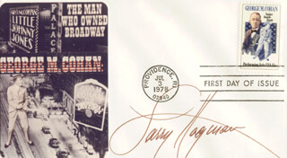 LARRY HAGMAN - FIRST DAY COVER SIGNED