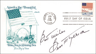 BESS MYERSON - AUTOGRAPH SENTIMENT ON FIRST DAY COVER SIGNED 04/24/1981