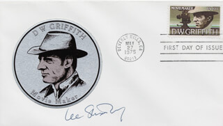 LEE STRASBERG - FIRST DAY COVER SIGNED