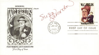 SUSAN SARANDON - FIRST DAY COVER SIGNED