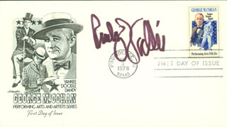RUDY VALLEE - FIRST DAY COVER SIGNED