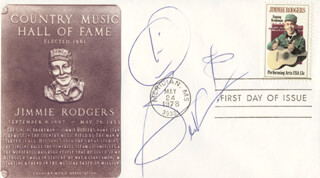 BEN VEREEN - FIRST DAY COVER SIGNED