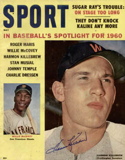 HARMON KILLEBREW - MAGAZINE SIGNED