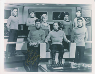DEFOREST KELLEY - AUTOGRAPHED INSCRIBED PHOTOGRAPH