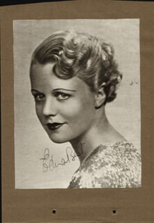 Autographs: EDNA BEST - NEWSPAPER PHOTOGRAPH SIGNED CO-SIGNED BY: LOUISE BROWNE, JOSEPHINE HOUSTON