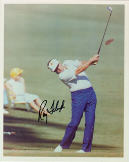 RAY FLOYD - AUTOGRAPHED SIGNED PHOTOGRAPH