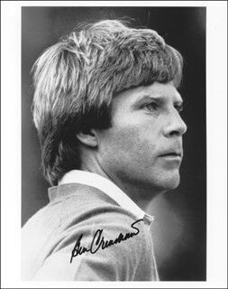 BEN CRENSHAW - AUTOGRAPHED SIGNED PHOTOGRAPH