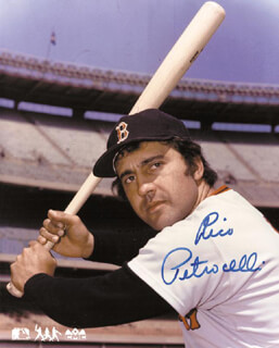 RICO PETROCELLI - AUTOGRAPHED SIGNED PHOTOGRAPH