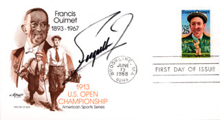 FUZZY ZOELLER - FIRST DAY COVER SIGNED