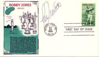 LEE TREVINO - FIRST DAY COVER SIGNED