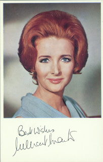 MILLICENT MARTIN - AUTOGRAPHED SIGNED PHOTOGRAPH