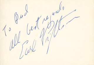 EARL WRIGHTSON - AUTOGRAPH NOTE SIGNED