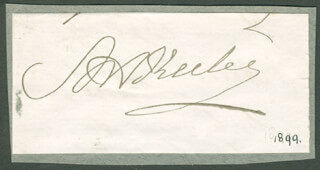 Autographs: MAJOR GENERAL ADOLPHUS W. GREELY - SIGNATURE(S) CIRCA 1899