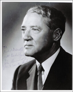 JOHN SHERMAN COOPER - AUTOGRAPHED INSCRIBED PHOTOGRAPH