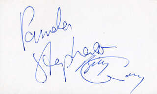 PAMELA STEPHENSON - AUTOGRAPH CO-SIGNED BY: BILLY CONNOLLY