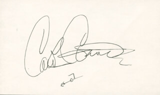 Autographs: CAROL CONNORS - SIGNATURE(S)