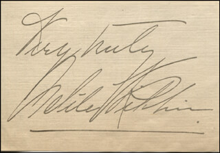 ADELE RITCHIE - AUTOGRAPH SENTIMENT SIGNED CIRCA 1906