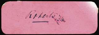 Autographs: FIELD MARSHAL FREDERICK 1ST EARL ROBERTS ROBERTS - SIGNATURE(S)