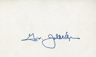 JOHN A. VOLPE - AUTOGRAPH  - HFSID 142516