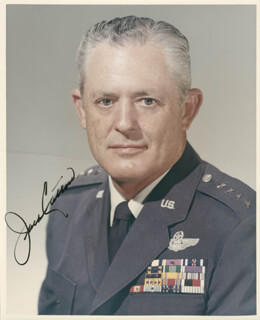 GENERAL JACK J. CATTON - AUTOGRAPHED SIGNED PHOTOGRAPH