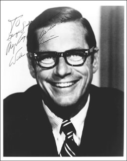 WILLIAM E. SIMON - AUTOGRAPHED INSCRIBED PHOTOGRAPH
