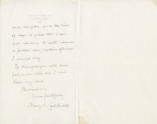 HENRY EDWARD CARDINAL MANNING - AUTOGRAPH LETTER SIGNED 10/20/1889