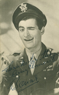 BONAR COLLEANO - AUTOGRAPHED SIGNED PHOTOGRAPH
