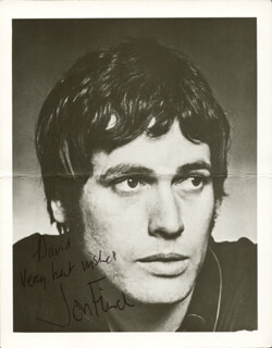JON FINCH - AUTOGRAPHED INSCRIBED PHOTOGRAPH
