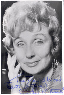 GOOGIE WITHERS - AUTOGRAPHED INSCRIBED PHOTOGRAPH