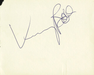 Autographs: KENNY BALL - SIGNATURE(S)