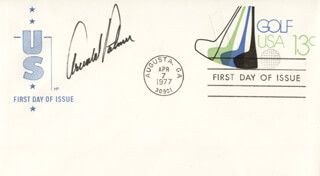 ARNOLD PALMER - FIRST DAY COVER SIGNED