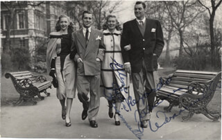 JOHNNY WEISSMULLER - AUTOGRAPHED SIGNED PHOTOGRAPH CO-SIGNED BY: ELLEN G. WEISSMULLER