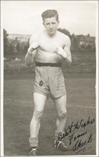 RICHARD SKEETS GALLACHER - AUTOGRAPHED SIGNED PHOTOGRAPH